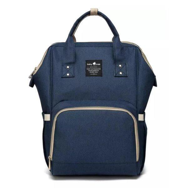 Navy Nappy Bag Backpack