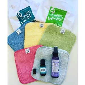 Reusable wipes travel kit