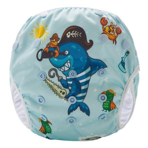 Pirate octopus Swim nappy