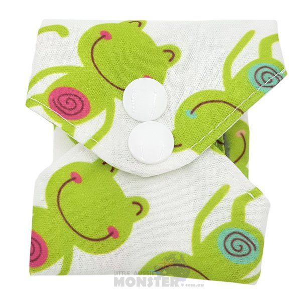 Frogs Light Reusable Sanitary Pad Closed