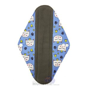 Princess Pussycat Heavy Reusable Sanitary Pad Front