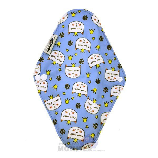 Princess Pussycat Heavy Reusable Sanitary Pad Back