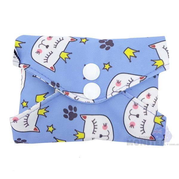 Princess Pussycat Heavy Reusable Sanitary Pad Closed