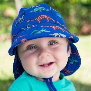 Boys Legionnaire Hat Fossil - 42cm - 3-6 months - XS