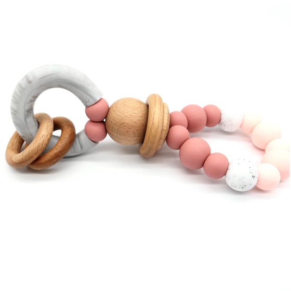 Teether Ring Palermo Pink