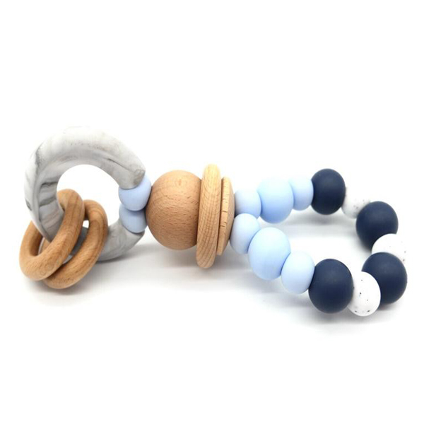 Teether Ring Palermo Blue
