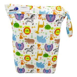 Baby Animals Nappy Wet Bag