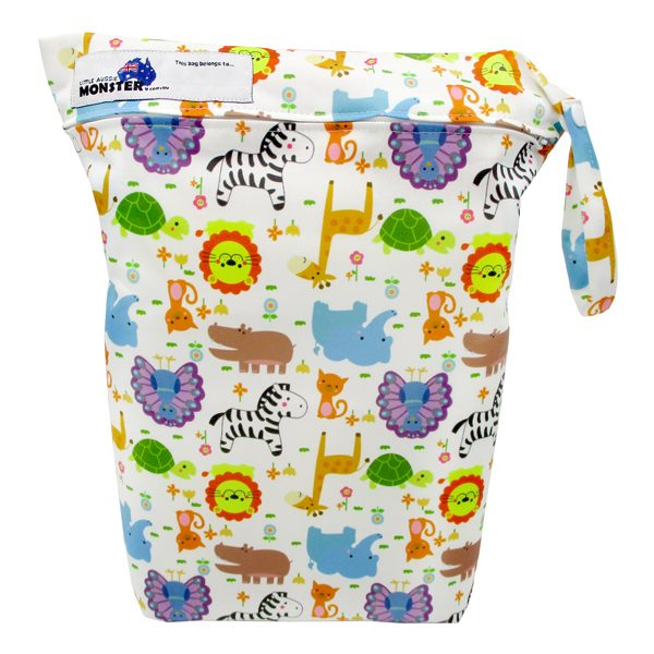 Baby Animals Nappy Wet Bag