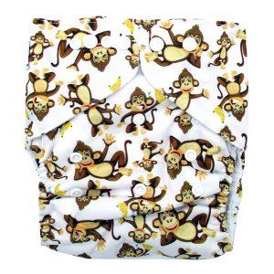 Junior XL cloth nappy Cheeky Monkeys