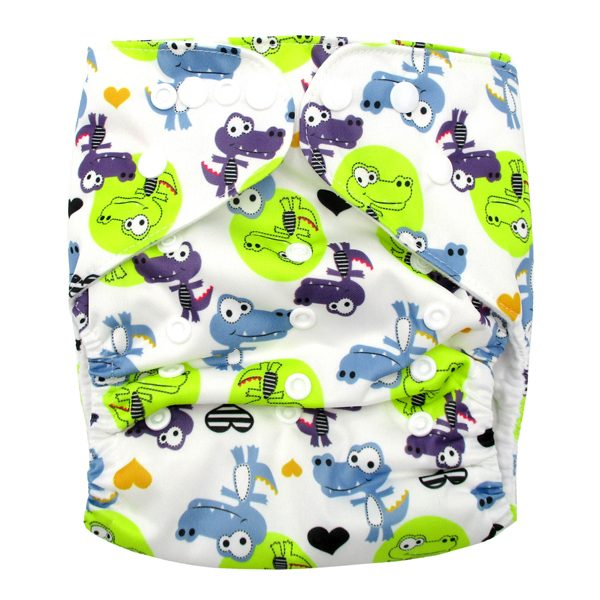 Cool Cocodile Large Junior Modern Cloth Nappy XL