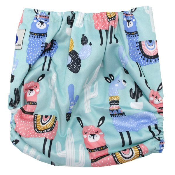 Llamas Modern Cloth Diaper