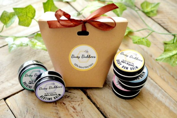 Busy Bubbees Natural Baby Balms Gift Set