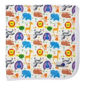 change mat cute wild animals