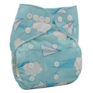 Paper Plane Cloth Nappy