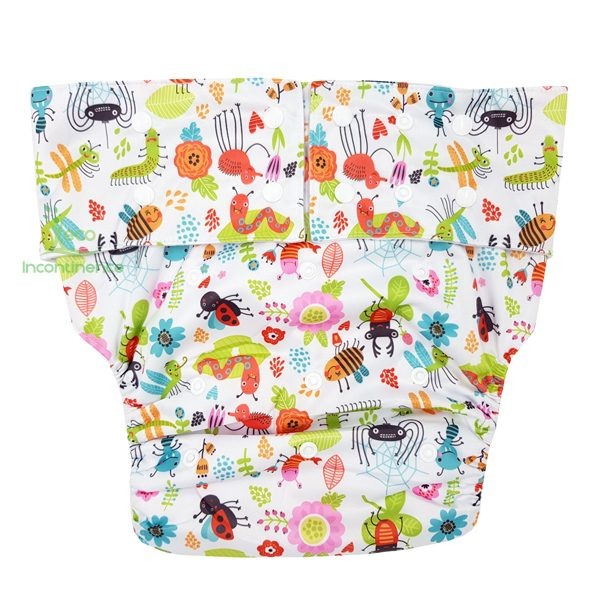 Cute Bugs Adult Nappy