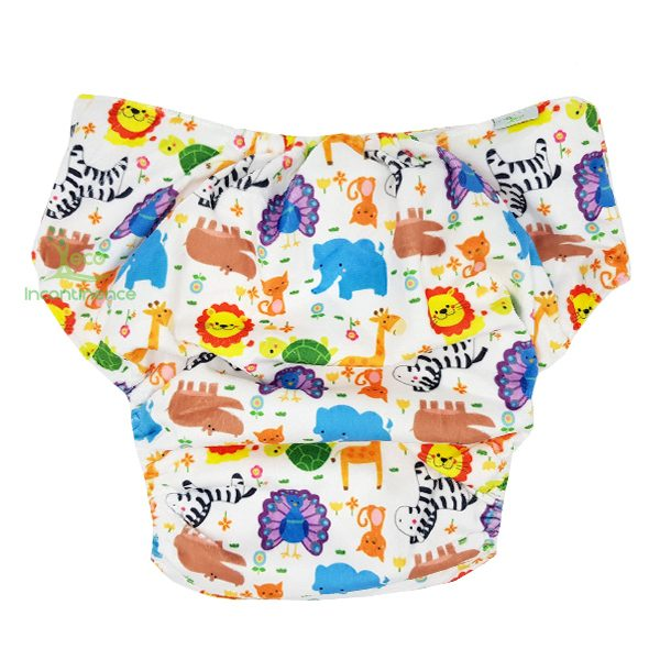 Minky Animals Adult Diaper