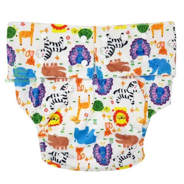 Minky Animals Adult Nappy