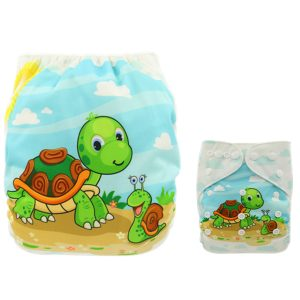 Snail Turtle Cloth Nappy