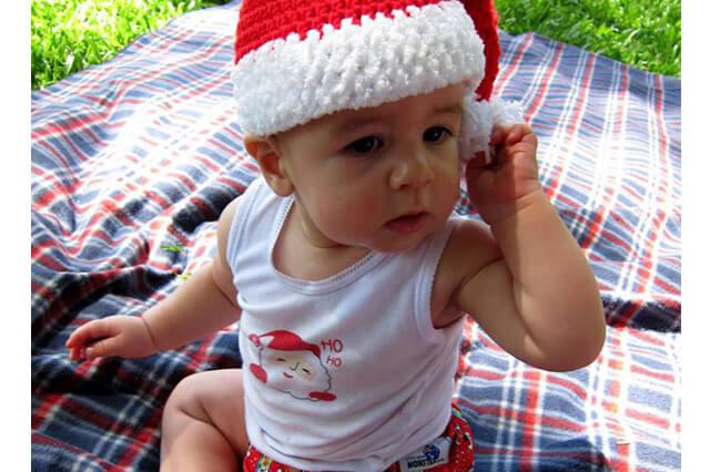 Christmas Cloth Nappy