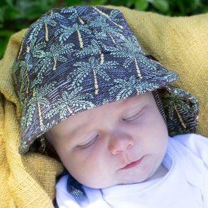 Legionnaire Hat Palms Front on Child