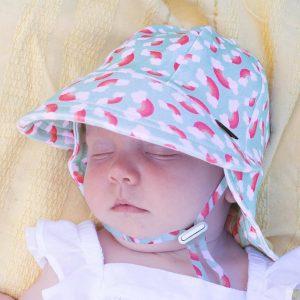 Legionnaire Hat Rainbow Front on Child