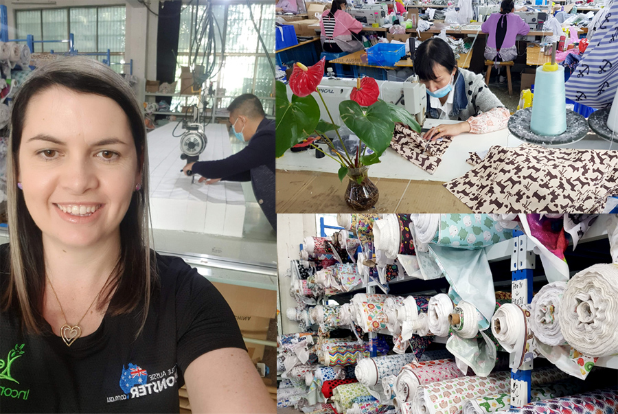 Our 2019 Cloth Nappy Factory Visit
