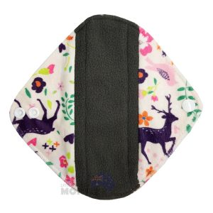 Reusable Sanitary Pad Light Minky Deer Front
