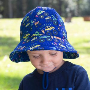 Toddler Bucket Hat Monster Truck Front