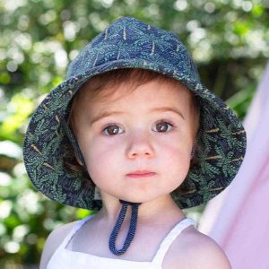 Toddler Bucket Hat Palms Front