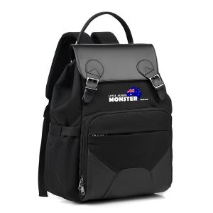 Nappy Backpack Black Front