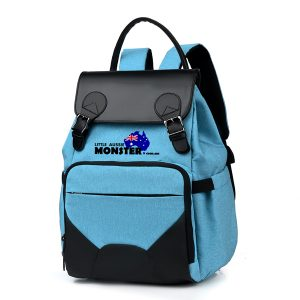 Nappy Bag Backpack Blue