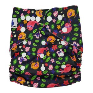 Bird Paradise Cloth Nappy Front