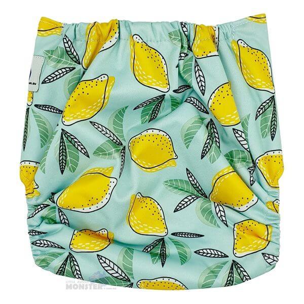 Lemons Modern Cloth Nappy Back