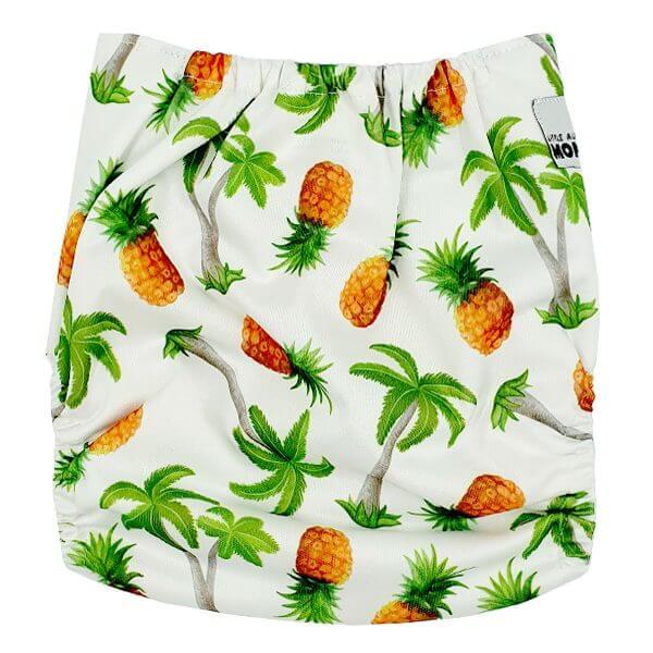 Pine Palm Cloth Nappy Back