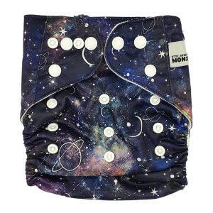Galaxy Cloth Nappy Front