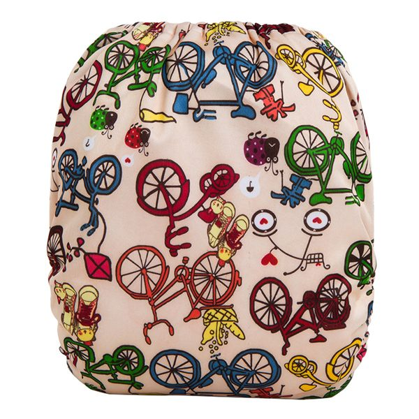 Push Bikes Cloth Nappy Back