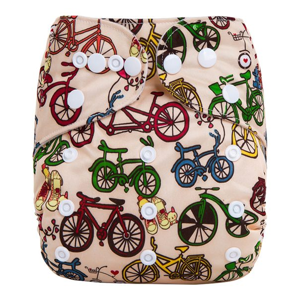 Push Bikes Cloth Nappy Front
