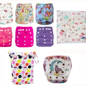 Summer Pack Cloth Nappies Girl