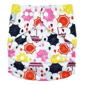 Umbrellas Cloth Nappy Front