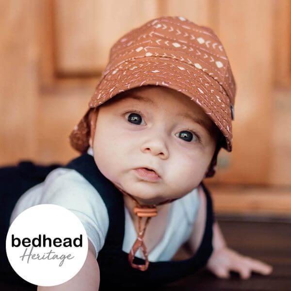 Archie Baby Flap Hat Front