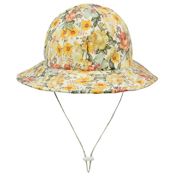 Broadbrim Ponytail Sun Hat Isla Back