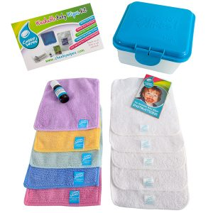 Cloth Wipes Trial Kit Blue Box