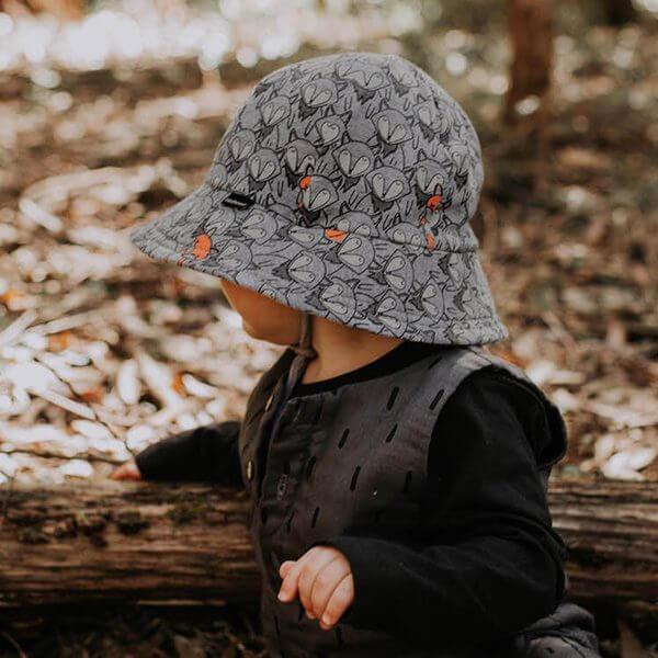 Foxy Baby Bucket Hat Side