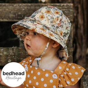 Isla Ruffle Baby Bucket Hat