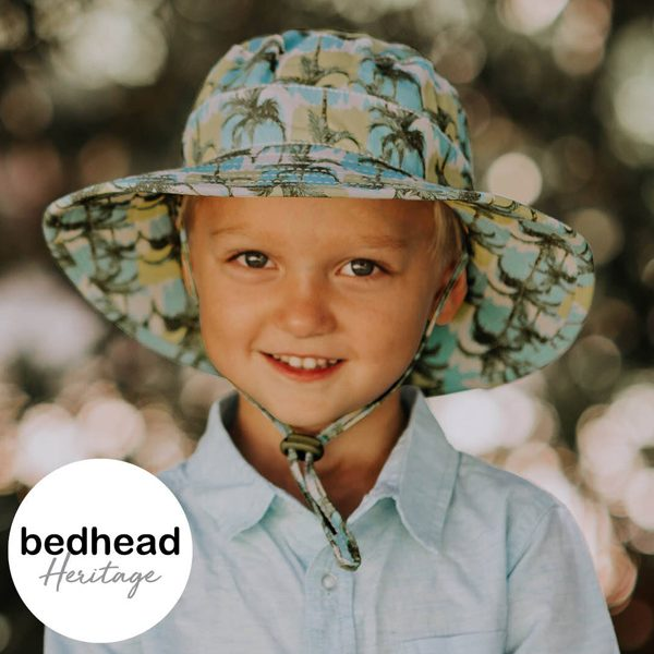 Malibu Broadbrim Kids Hat Front