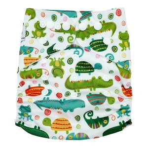 Chameleon Cloth Nappy Front