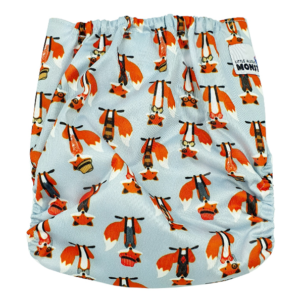 Clever Fox Modern Cloth Nappy Back