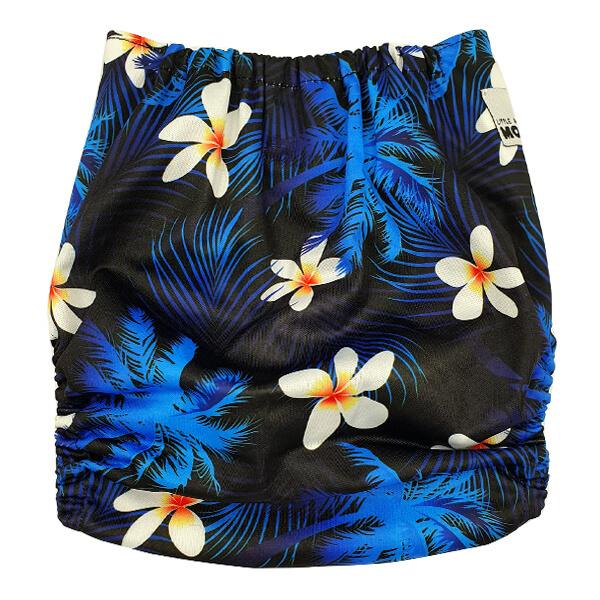 Frangipani Modern Cloth Nappy Back