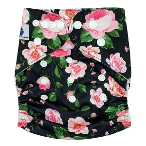 Heritage Rose Modern Cloth Nappy front