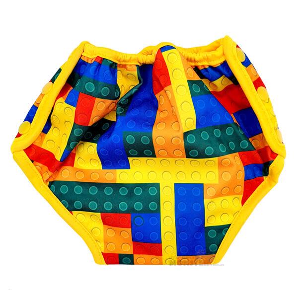 Lego Bricks Training Pull Ups Back
